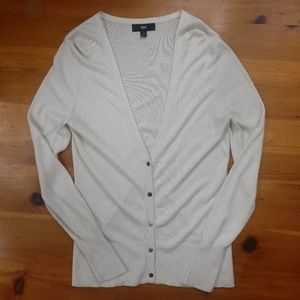 Mossimo Soft White Long Sleeve Sweater
